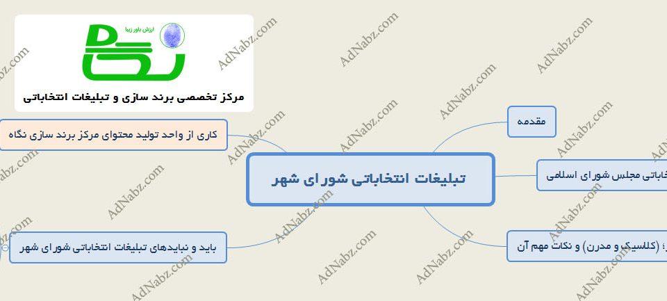 تبلیغات انتخاباتی شورای شهر